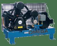 Omega Compresseur monté sur base